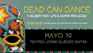 DEAD CAN DANCE en Bogotá