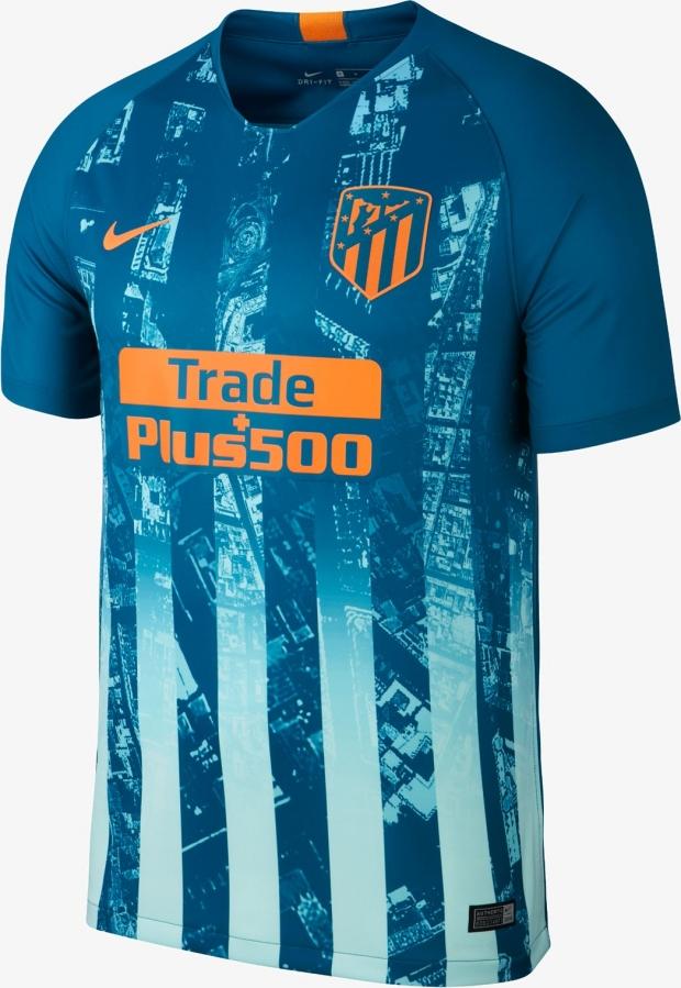 b4f90d606f Nike lança a nova terceira camisa do Atlético de Madrid - Show de ...