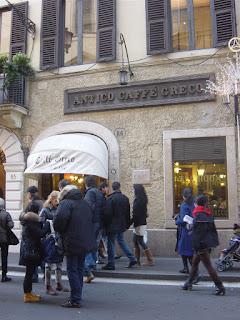Antico Caffe' Greco - Rome