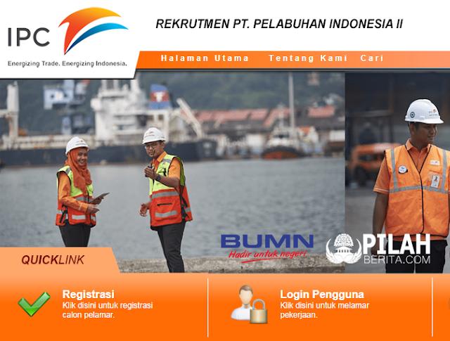 LOWONGAN KERJA BUMN - PT PELABUHAN INDONESIA II (PERSERO) BUKA LOWONGAN UNTUK FRESH GRADUATE, IPK MINIMAL 2,80