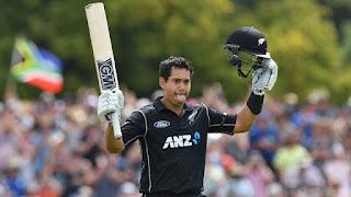 Ross Taylor 102* - New Zealand vs South Africa 2nd ODI 2017 Highlights