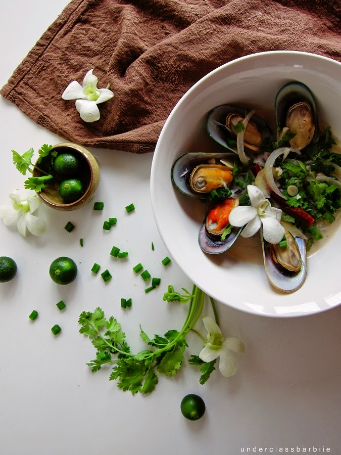 simple mussel recipe