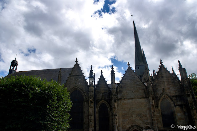 Facciata dell'Eglise de Saint Sulpice di Fougeres