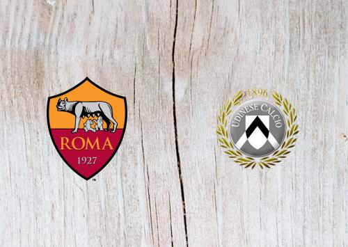 Roma vs Udinese Full Match & Highlights 13 April 2019