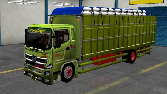 Mod Truck Hino 500 Muatan Bulog