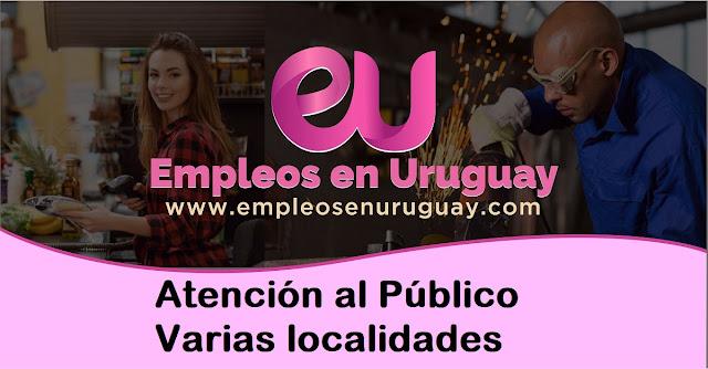 Atención al Público - Varias localidades