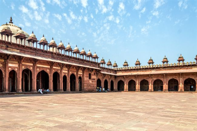 Another shot of Jama Masjid complex
