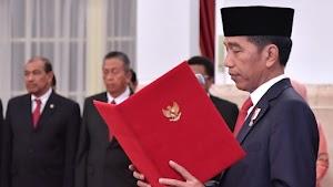 Jokowi Lantik 781 Perwira TNI-Polri: Jangan Kecewakan Orang Tua