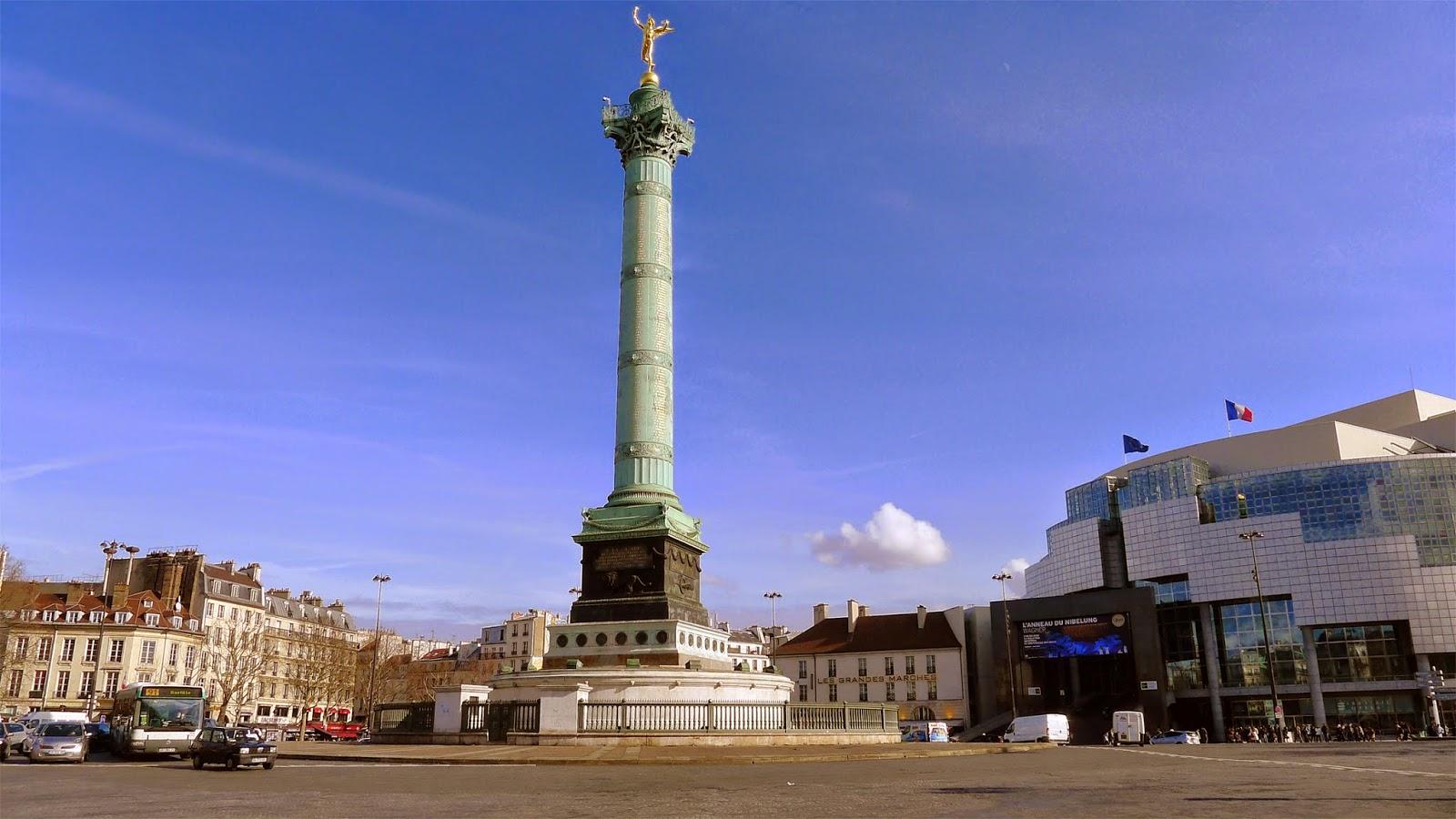Dove si trova la bastiglia a Parigi