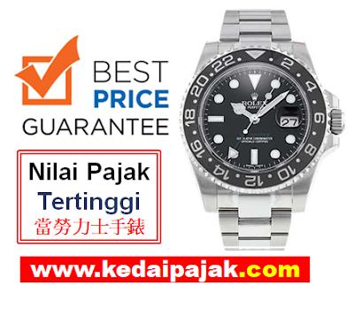 Pajak Rolex (Rolex GMT Master II Dipajak Dengan RM40,000)