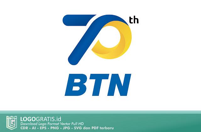 Logo Ulangtahun 70 Tahun Bank BTN