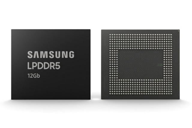 سامسونج تُنتج كميات هائلة من الذاكرة العشوائية LPDDR5 سعة 12 جيجابايت