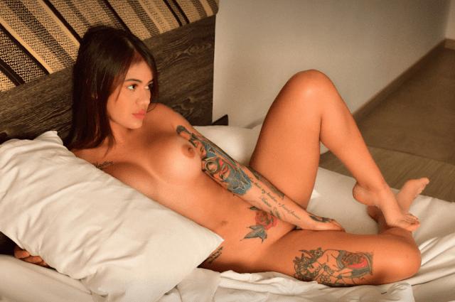 Cintia cossio nude masterbation sex  video,