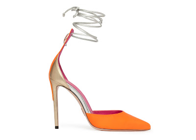Oscar Tiye Spring Summer 2016 Mirtha pump curry