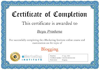 Blogger Bali