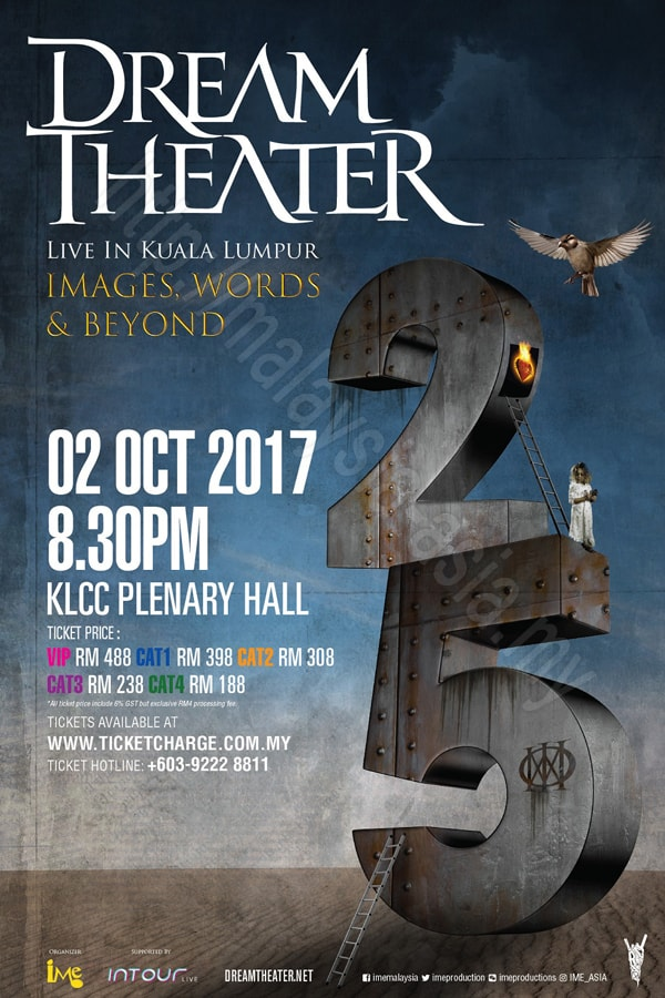 Dream Theater Live in KL Malaysia