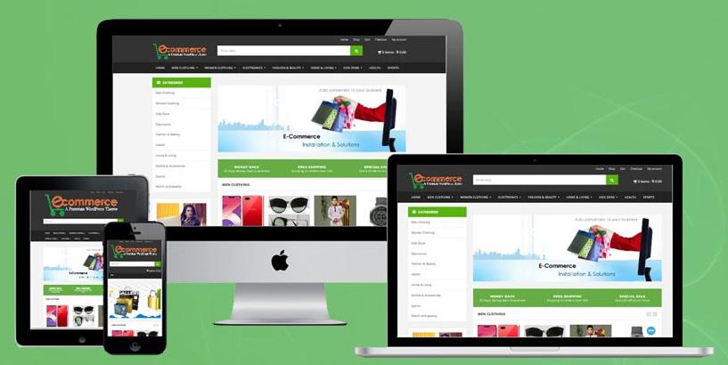 Best Ecommerce Website Template - Online Shopping Website Theme