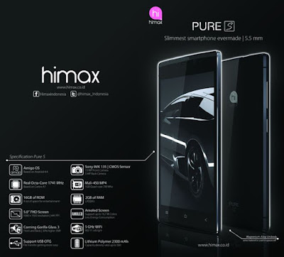 Cara Instal Ulang Himax Pure S Via PC - Mengatasi Bootloop