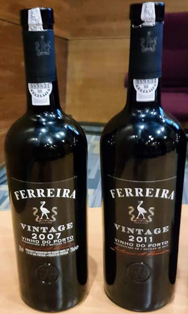 Ferreira Porto Vintage 2007 e 2011