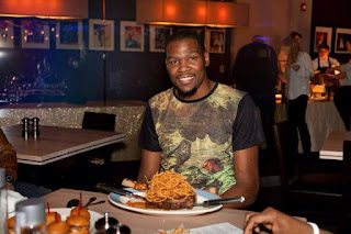 Kevin Durant Mahogany Prime Steakhouse OKC