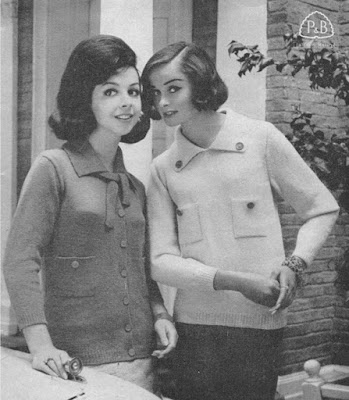 The Vintage Pattern Files: Free 1960s Knitting Patterns - Patons No.662 Women's Knitting Pattern Booklet