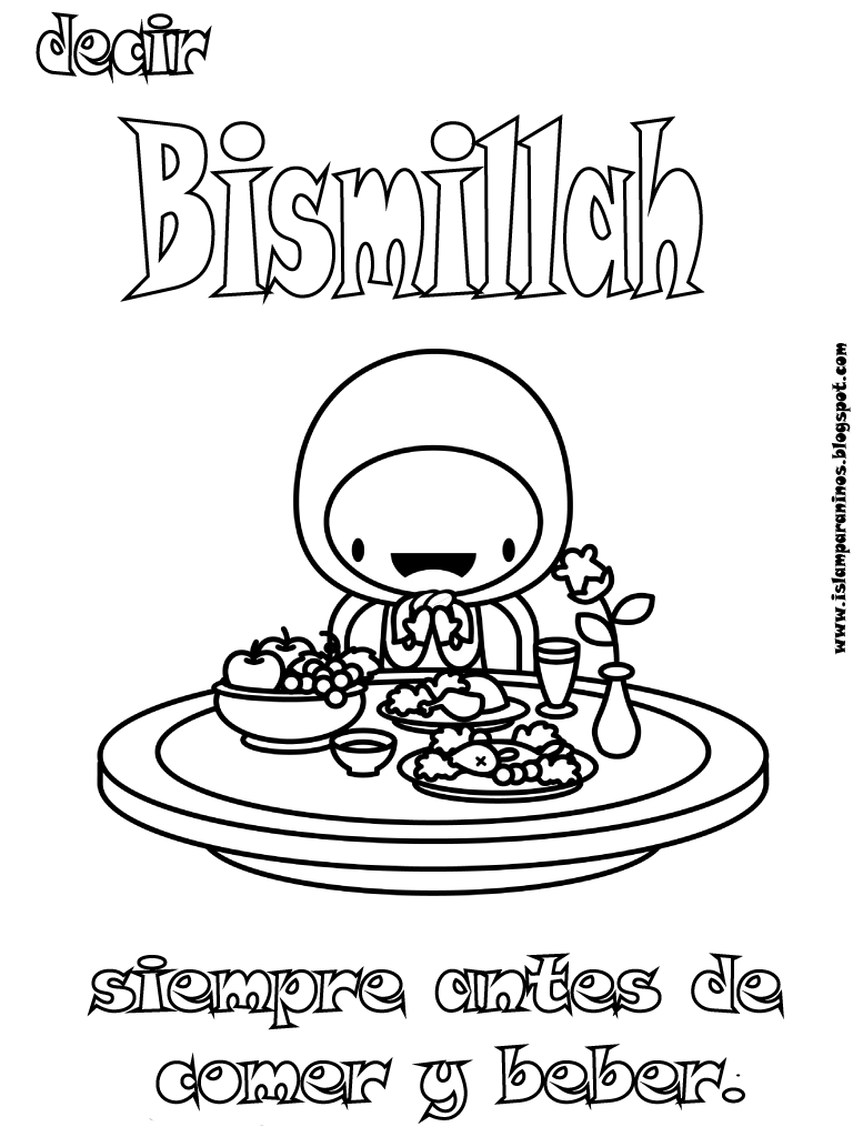 hajj ihram coloring pages - photo #32