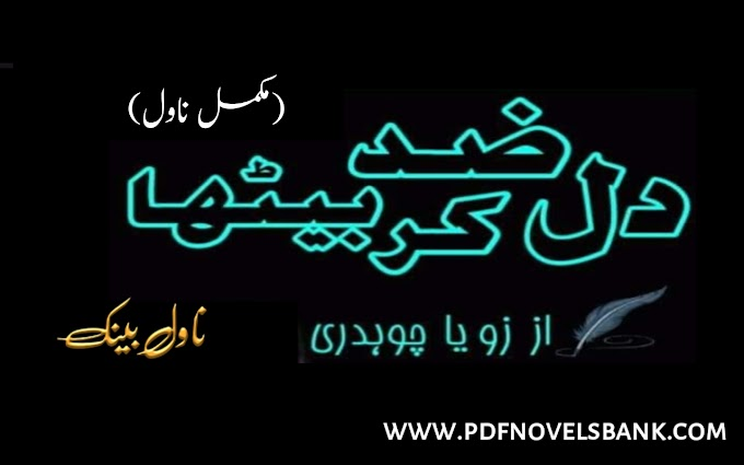 Dil Zid Kar Betha by Zoya Ch Novel Complete Pdf Download