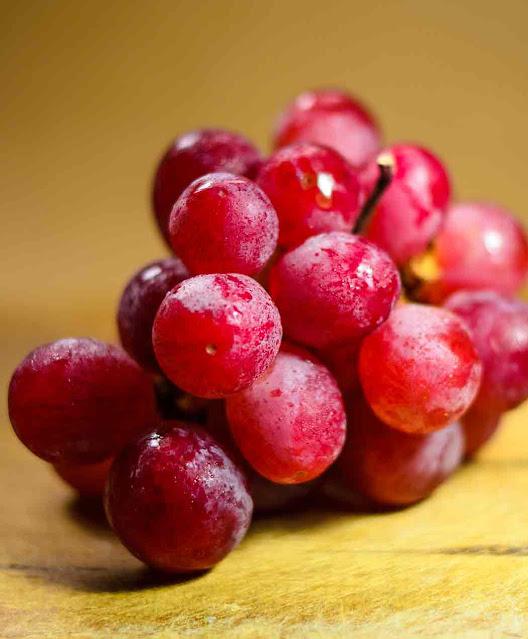 Uvas para la piel