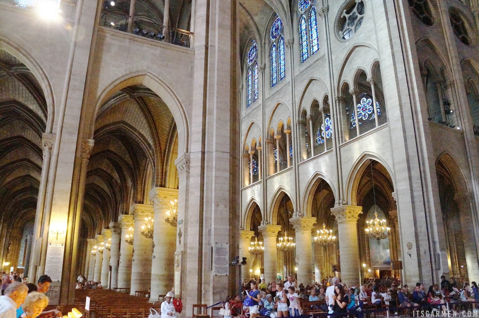 Traveling to Paris: France Travel Tips Inside the Notre Dame Cathedral