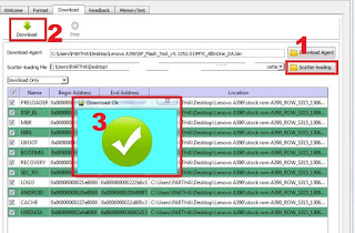 Cara Flashing Lenovo A1020T
