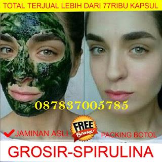 Masker Spirulina Jaminan Asli