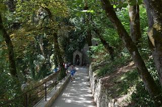 Rocamadour. Camí del Via Crucis