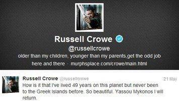 "Russel Crowe:""Δεν μπορώ να καταλάβω πώς ζούσα επί 49 χρόνια σε αυτόν τον πλανήτη και δεν είχα επισκεφθεί ποτέ τα ελληνικά νησιά!"