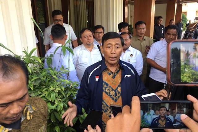 Wiranto: Saya Masih Menko Polhukam