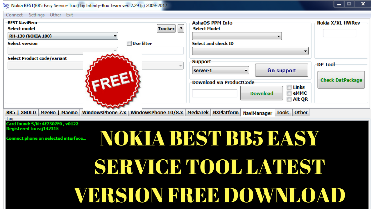 nokia best bb5 easy service tool gratuit
