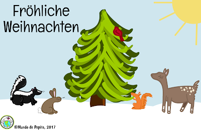 German Christmas E Card