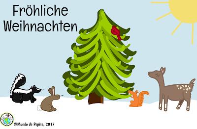 German Christmas E Card