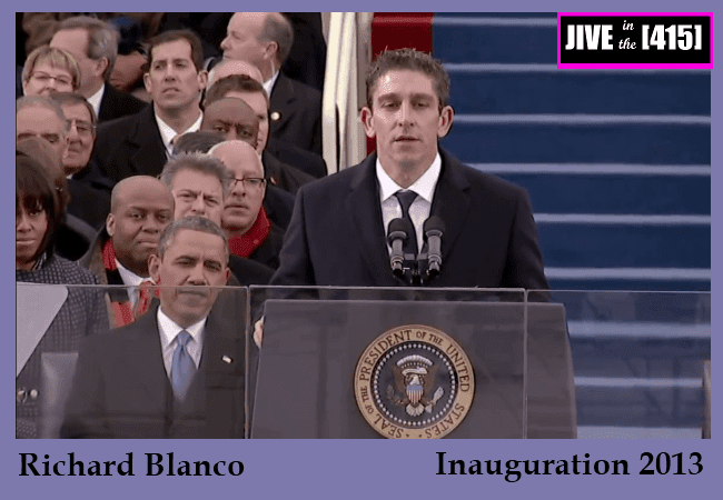 Richard Blanco the Obama Inaugural poet January 21, 2013