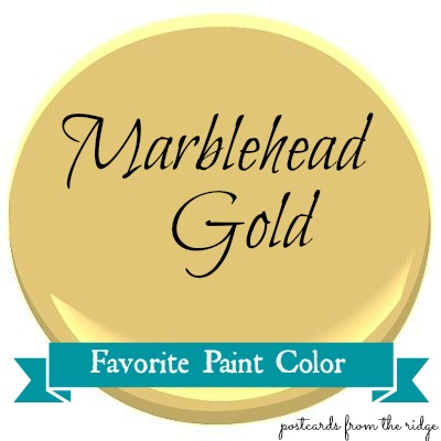Welcome To Favorite Color Day On The Blog Each Tuesday Aka Hues A Diffe Is Featured Here Today S Benjamin Moore Marblehead Gold
