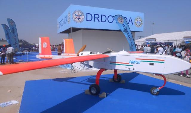 DRDO Panchi UAV-Aero India 2015