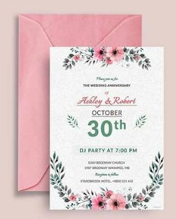 Desain Undangan Pernikahan Terbaru