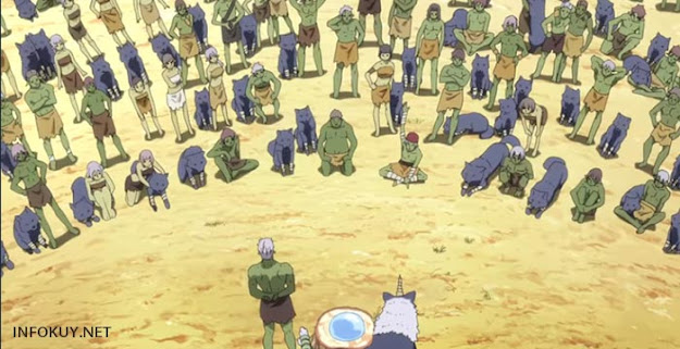 Review Anime Tensei shitara Slime Datta Ken