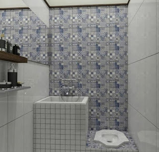 Desain kamar mandi minimalis tampah mewah