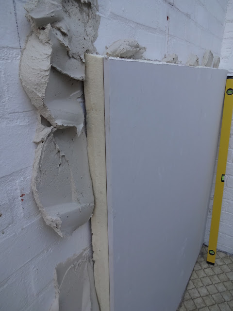 how to fit insulating plasterboard