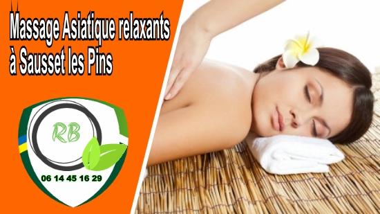 Massage Asiatique relaxants à Sausset les Pins;
