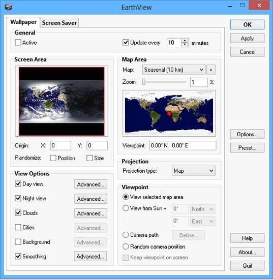 Screenshot EarthView 6.1.4 Full Version