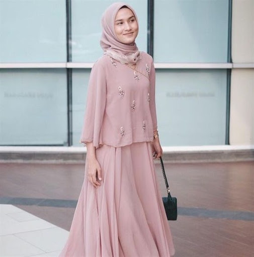 model hijab pesta simple terbaru 2017/2018