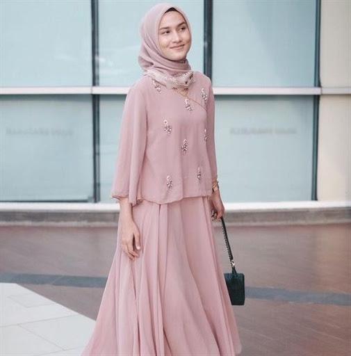 model hijab pesta simple terbaru 2017/2018