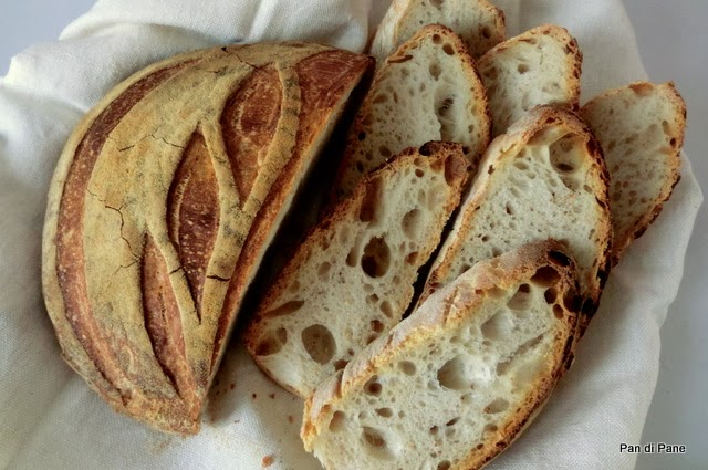 Pan Di Pane Ricetta Pane Quotidiano Con Pasta Madre