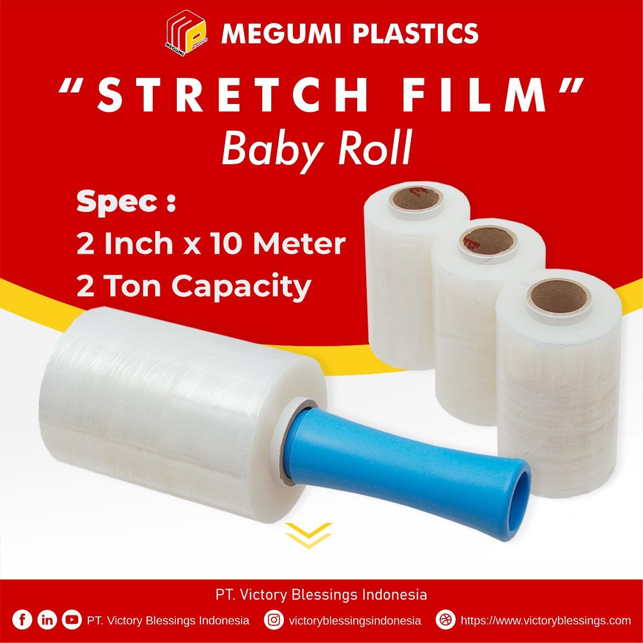stretch film baby roll